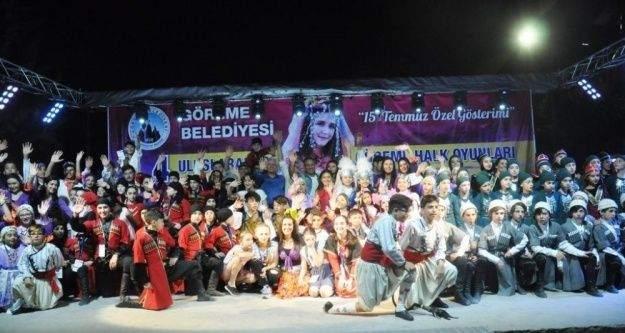 4. Uluslararası Göreme Halk Oyunları Festivali sona erdi