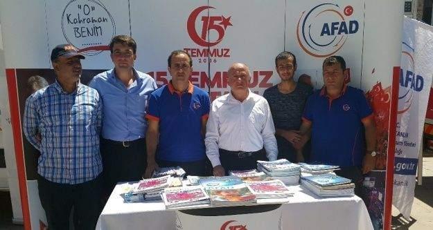 AFAD'dan Gümüşhane'de 'O kahraman benim' kampanyası