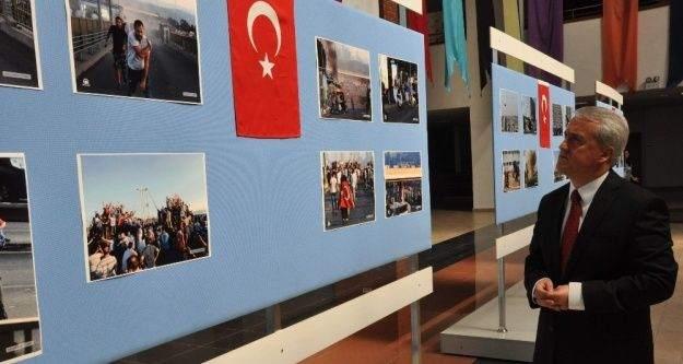 Anadolu Üniversitesinden 15 Temmuz şehitlerini anma etkinliği