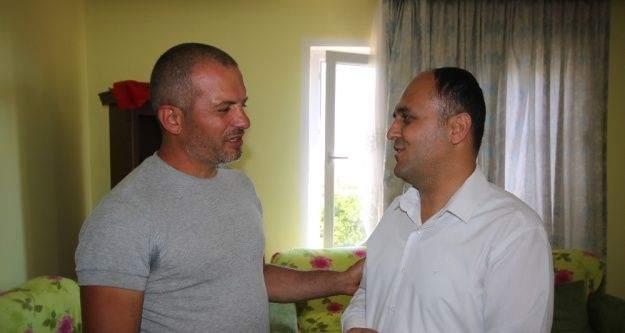 Başkan Özaltun'dan 15 Temmuz gazisine ziyaret