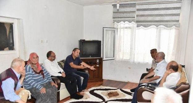 Başkan Üzülmez'den 15 Temmuz gazilerine ziyaret