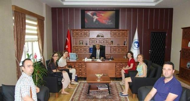Bosna Hersek Mostar Üniversitesi heyeti Kırklareli'nde