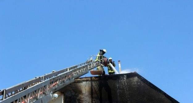 Kırşehir'deki yangın korkuttu