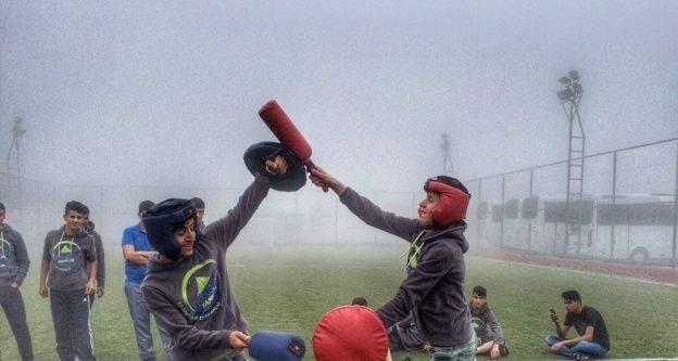 Şanlıurfa ve Şırnaklı gençler Trabzon'daki kampta buluştu