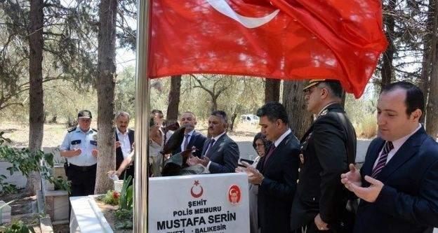 Vali Yazıcı, şehit Mustafa Serin'in ailesini ve kabrini ziyaret etti