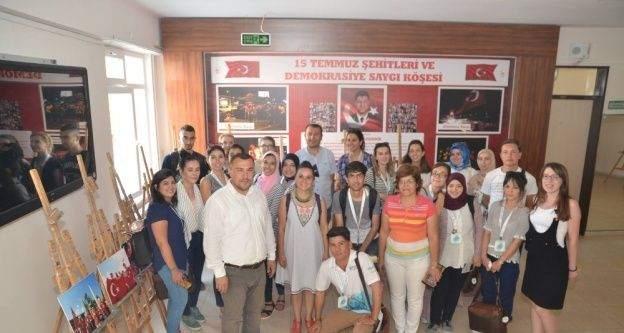 Yunus Emre Enstitüsü öğrencileri ESOGÜ Tömer'de