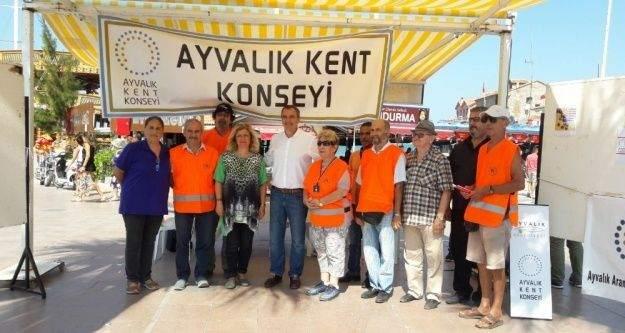 Ayvalık'ta Kent Konseyi 17 Ağustos felaketini unutmadı