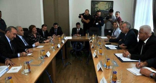Bakan Fakıbaba, Bosna Hersekli Bakan Mirko Sarovic'i ziyaret etti