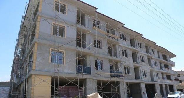 Burhaniye'de belediye 18 daireyi satışa çıkardı