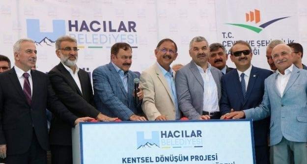 Çevre ve Şehircilik Bakanı Mehmet Özhaseki, 'Yerin altında bir hareketlilik var bununla savaşılmaz'