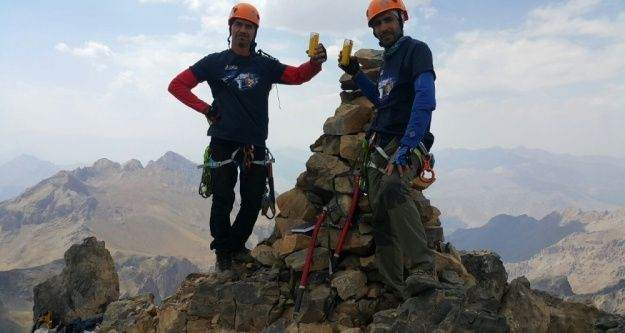 Kurt Dağına tırmanış