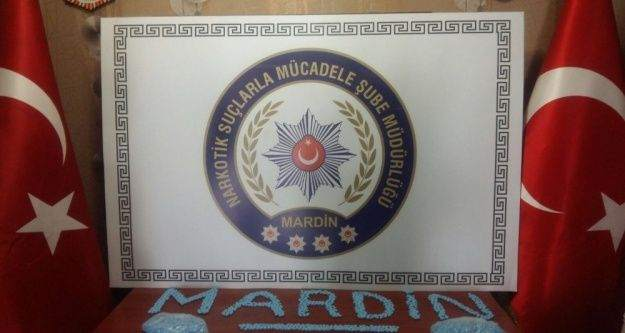 Mardin'de bin 931 adet uyuşturucu hap ele geçirildi