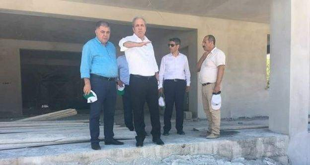 Nurdağı'na yeni Cami inşaatı