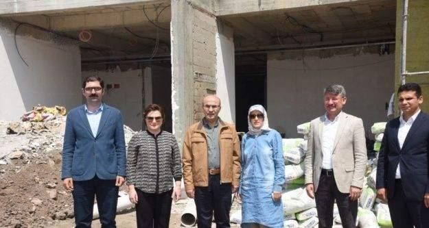 Vali Demirtaş, Aladağ'da incelemelerde bulundu