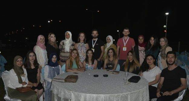 Yabancı uyruklu öğrenciler Karaman'a veda etti