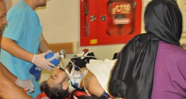Bariyerlere çarpıp bacağı kopan motosiklet sürücüsü öldü