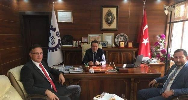 Belerus Büyükelçisi Savinykh'ten OSB'ye ziyaret
