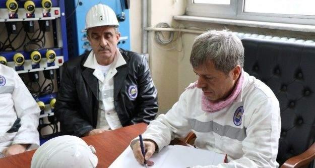Madene ilk kez inen Vali Ahmet Çınar, 'TTK'nın özelleştirmesiyle ilgili bize gelen bildiri yok'