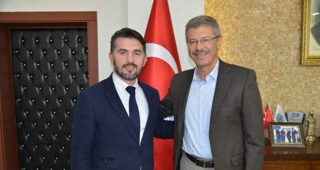 Milli Güreşçi olan Spor Eğitim Daire Başkanından Kayseri Şeker'e ziyaret