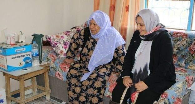 Şanlıurfa'da Yaşlı Destek Programı devam ediyor