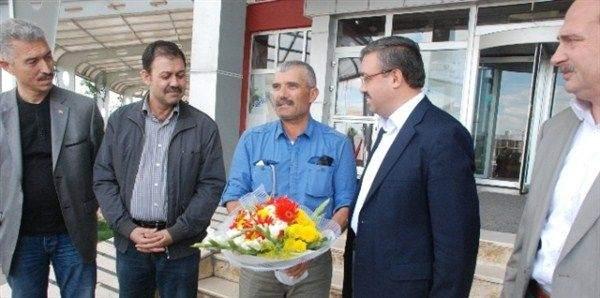 700 Kilometrelik Erdoğan Yolculuğunda Kısa Bir Mola