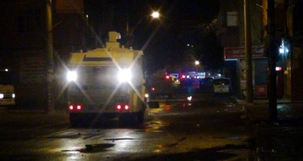 Diyarbakır'da gergin gece