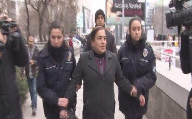 Molotofla Saldıran Kadın Gözaltında