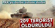 209 Terörist Öldürüldü