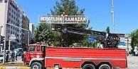 Adıyaman 'Hoş geldin Ramazan' ışıklarıyla süslendi