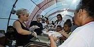 Bayraklı'da altı noktaya iftar çadırı kurulacak