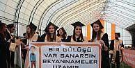 Bilecik Şeyh Edebali Üniversitesi Meslek Yüksek Okullarındaki 974 öğrenci kep attı