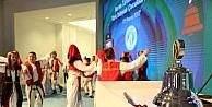 Borsada gongu Türk dünyası çocukları çaldı