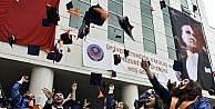 Gümüşhane Üniversitesinde mezuniyet sevinci