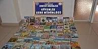 Nevşehir'de 236 adet bandrolsüz kitap ele geçirildi