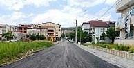 Yeşilova Mahallesi'ne 300 tonluk asfalt çalışması