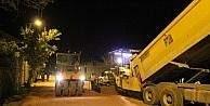 Bayburt Belediyesi'nden gece mesaisi