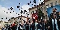 ODÜde mezuniyet sevinci