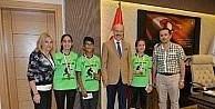 Türkiye şampiyonu Zağnospaşa, Kafaoğlu'nu ziyaret etti