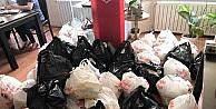 Yardım Sevenler Derneği 150 aileye gıda yardımı yaptı