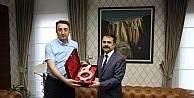 Başsavcı Tosun, Vali Aktaş'a veda ziyaretinde bulundu