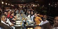 Diyarbakır'a atanan Sarı'ya veda yemeği