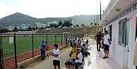 Foçada kurulan futbol lisesinde elemeler başladı