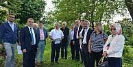 Görele'de yeni üniversite binasının yapılacağı arazide inceleme yapıldı.