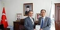 Güney Kore Büyükelçisi Yunsoo Cho'dan Vali Kaykancı'ya ziyaret