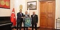 DSİ Spor Kulübü'nden Vali Doğan'a forma