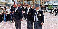 Araç'ta Gaziler Günü kutlandı