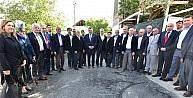 Başkan Gürkan hizmetleri inceledi
