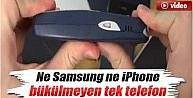 İşte Bükülmeyen Tek Telefon