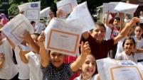 17.5 milyon öğrenci karne aldı