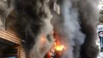 Kadıköy'de türkü barda yangın